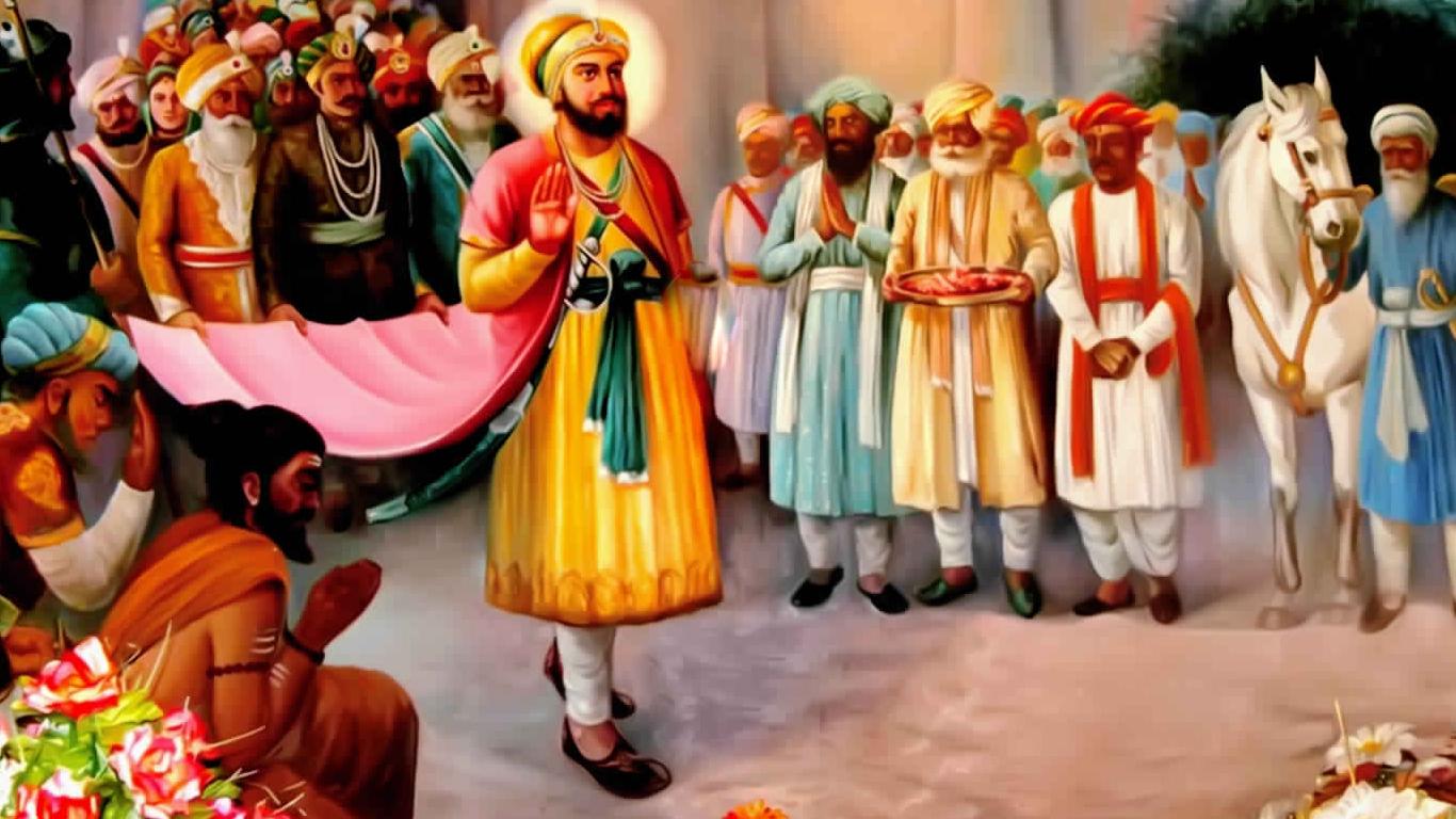 Guru Hargobind Sahib Ji Photo