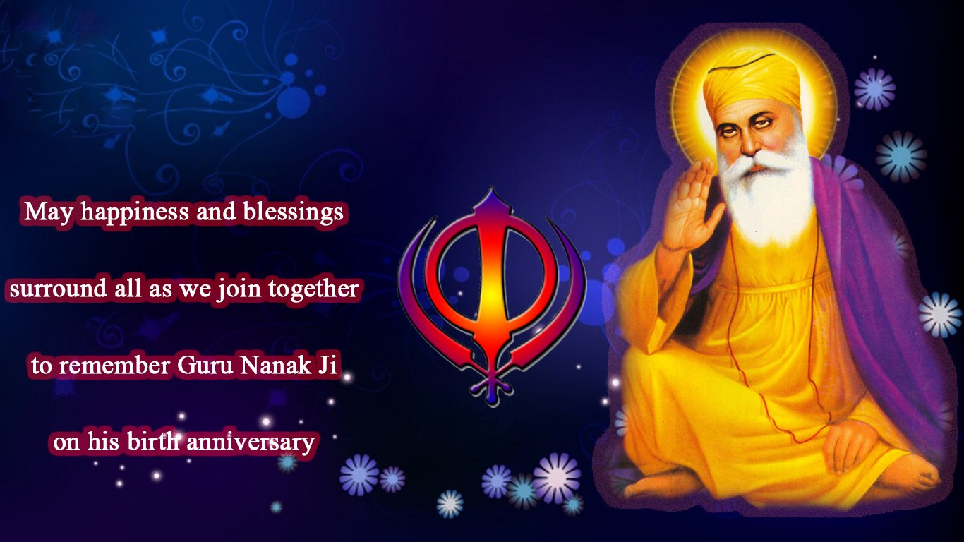 Guru Nanak Jayanti Hd Wallpaper Free Download For Whatsaap