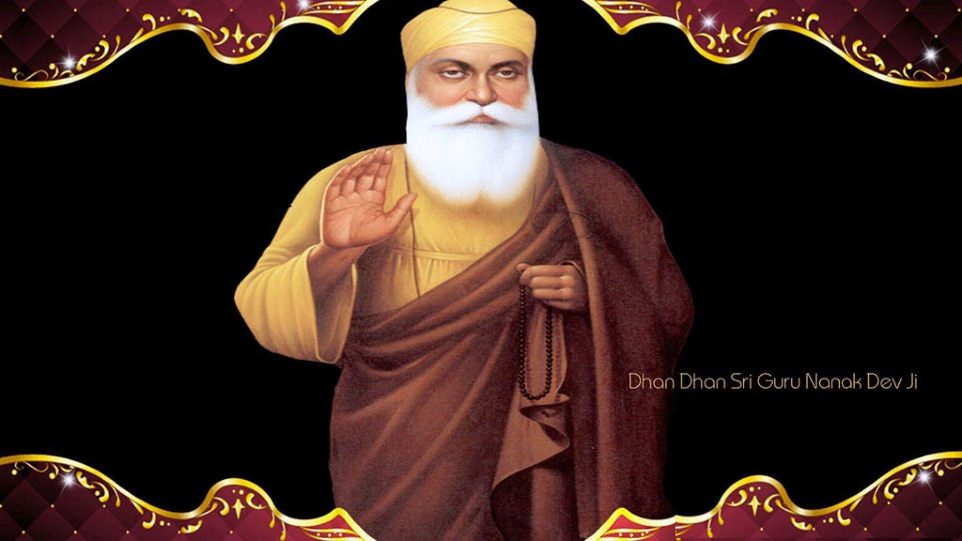 Guru Nanak Black And White Images