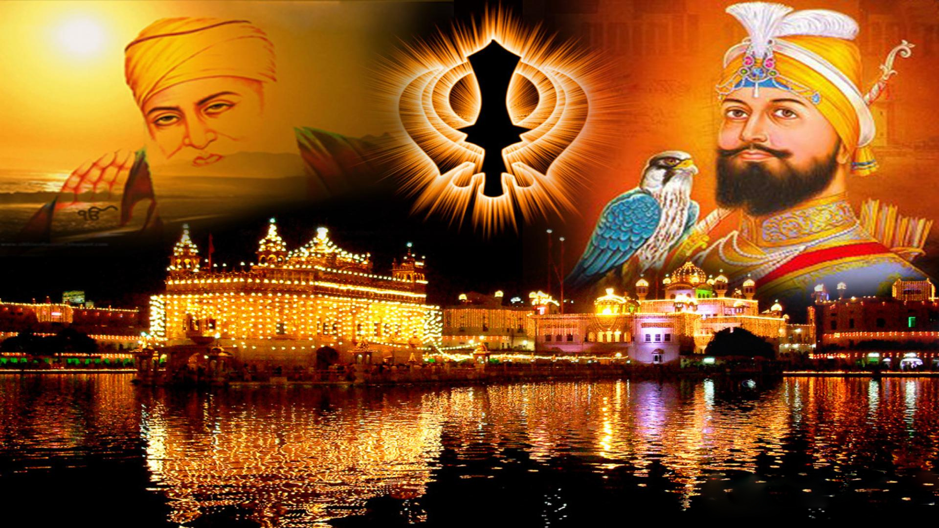 Guru Nanak Dev And Guru Gobind Singh Ji Wallpaper