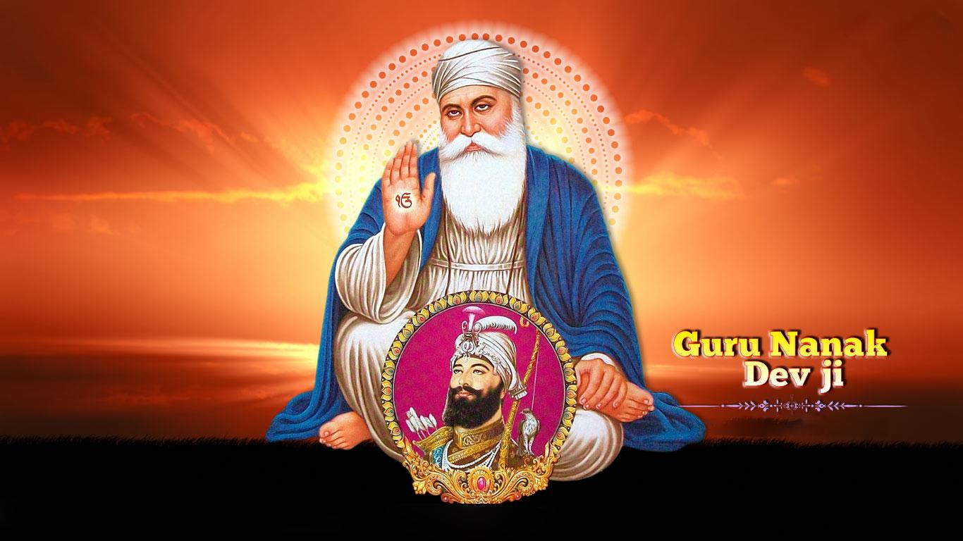 Guru Nanak Dev Ji And Guru Gobind Singh Ji Hd Wallpapers
