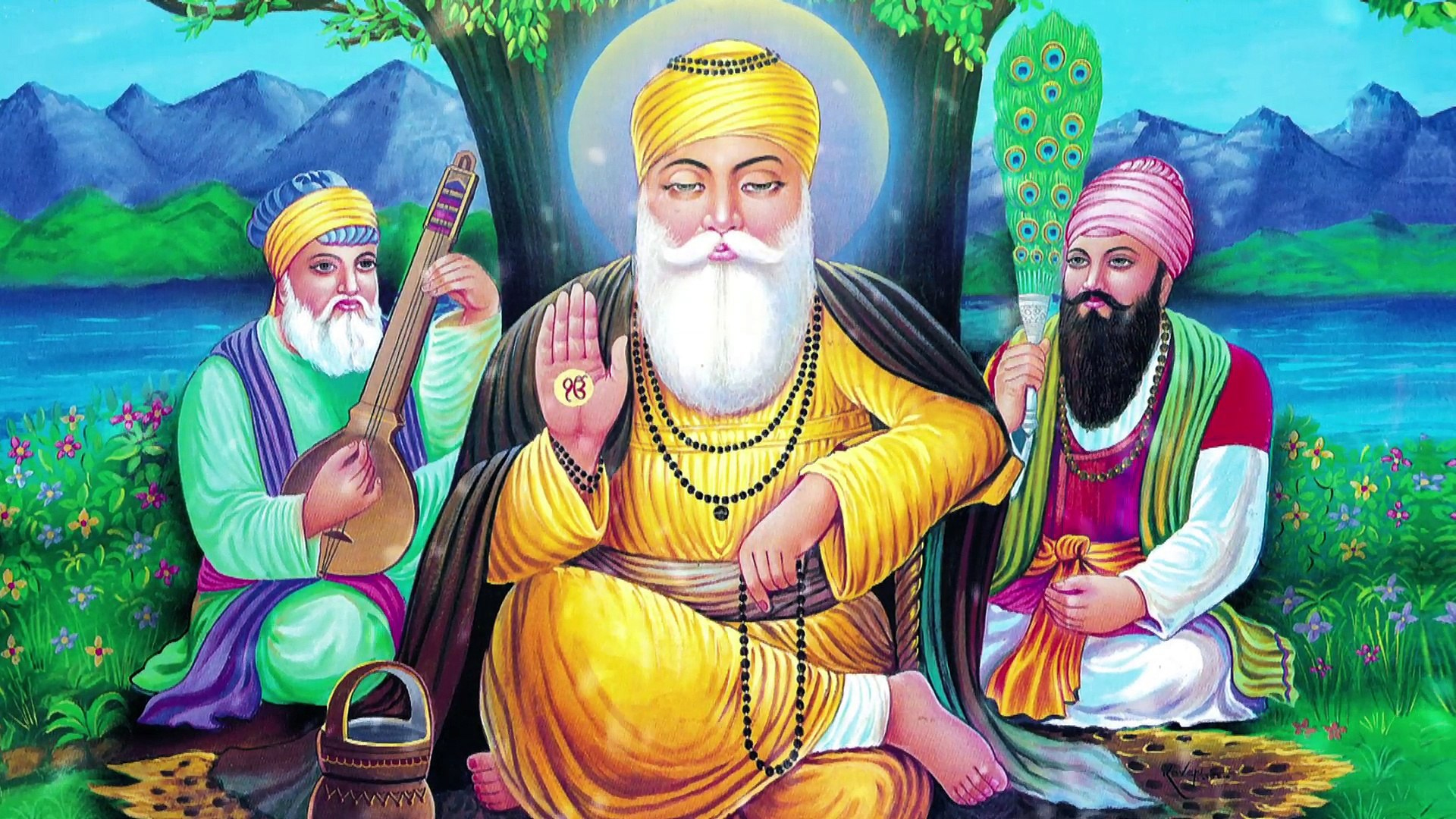 Guru Nanak Dev Ji Wallpaper Santabanta