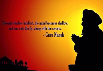 Guru Nanak Wishes In Hindi