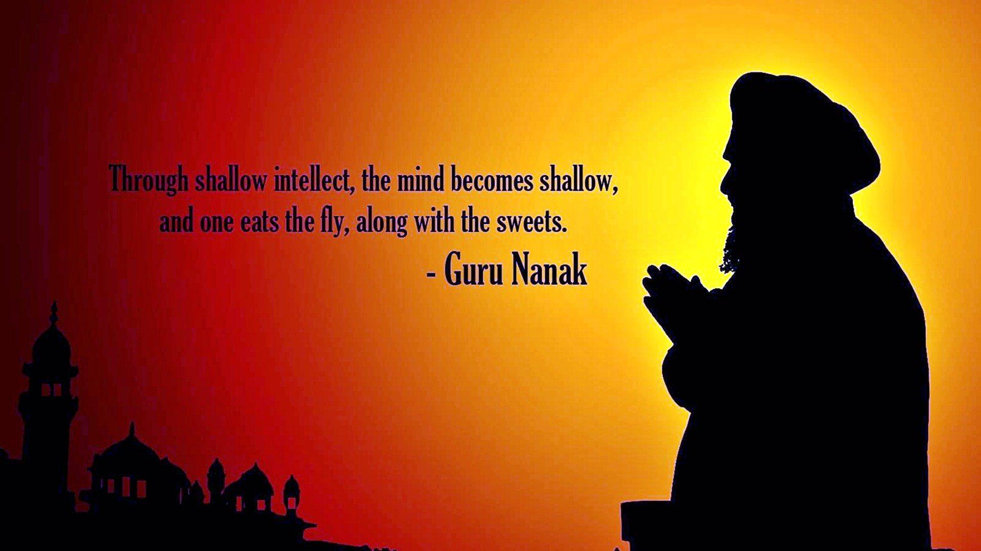 Guru Nanak Wishes In Hindi