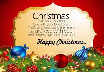 Happy Christmas Wallpaper