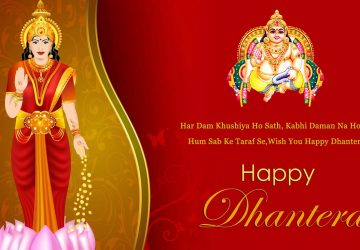 Happy Dhanteras Maa Laxmi Image