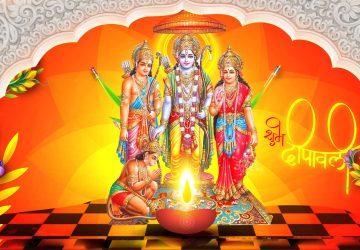 Happy Diwali Sita Ram Image
