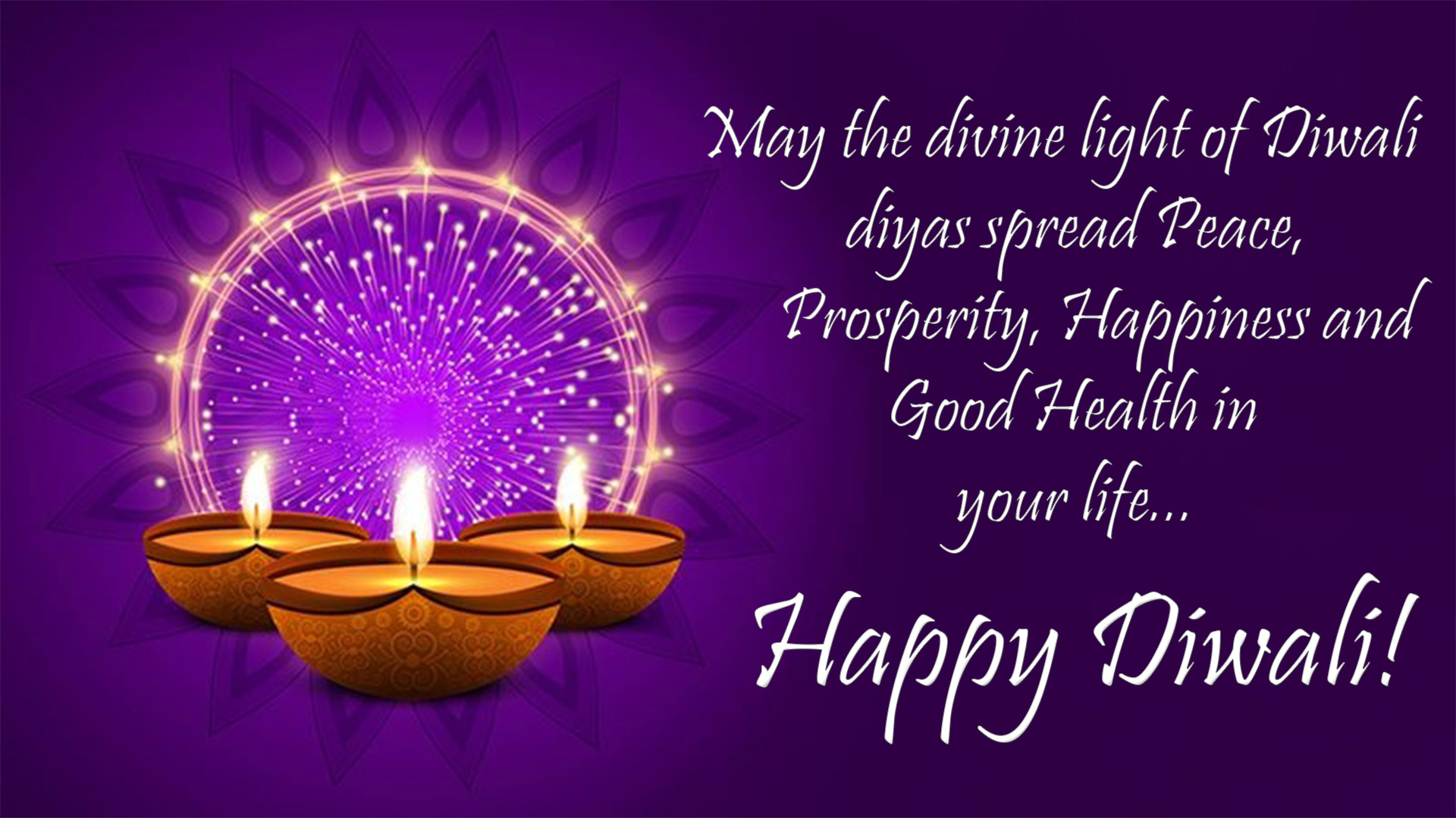 Happy Diwali Sms With Quotes Hindi Hd Wallpaper