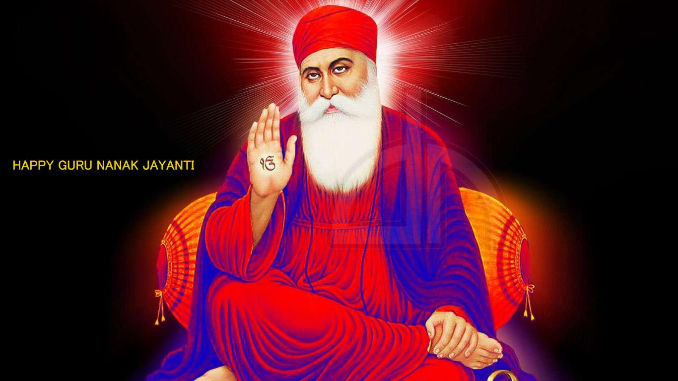 Happy Guru Nanak Jayanti Wallpaper Hd