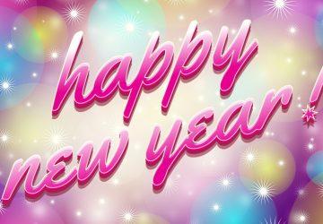 Happy New Year 1366×768
