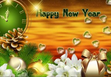 Happy New Year Hd 3d Wallpaper Download