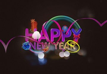 Happy New Year Wallpaper Hd 3d