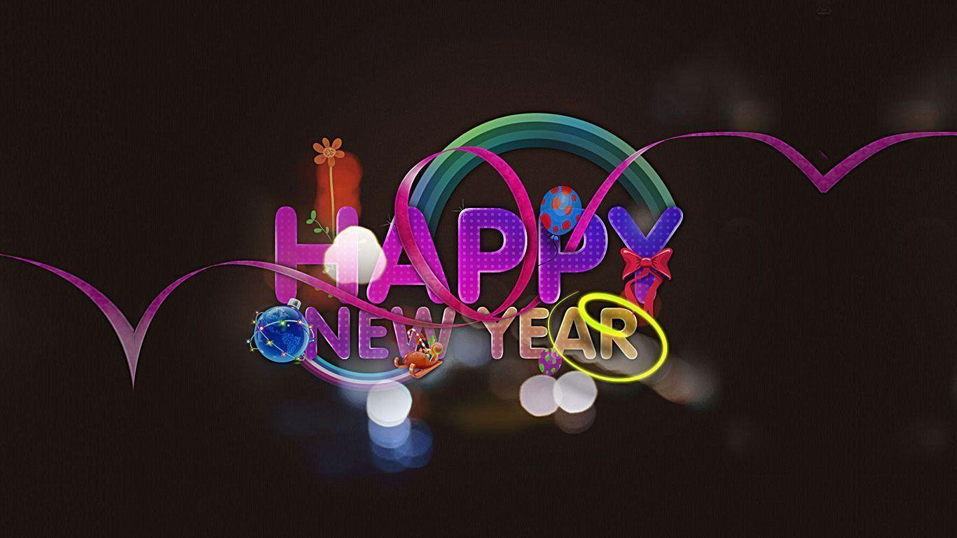Happy New Year Wallpaper Hd 3d