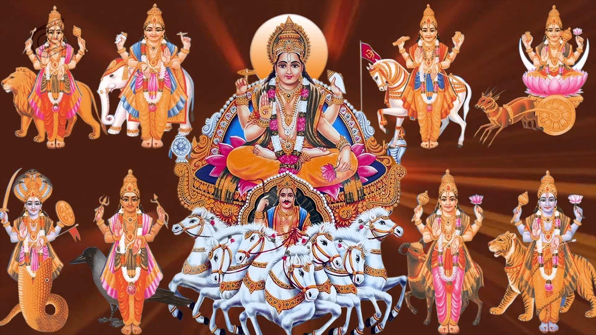 Hindu God Surya Photo