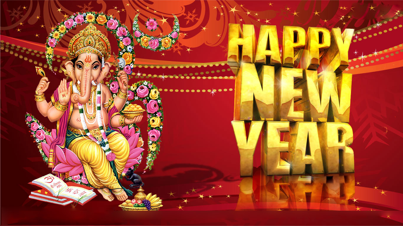 Hindu Nav Varsh New Year Wishes Photos Hd Wallpaper