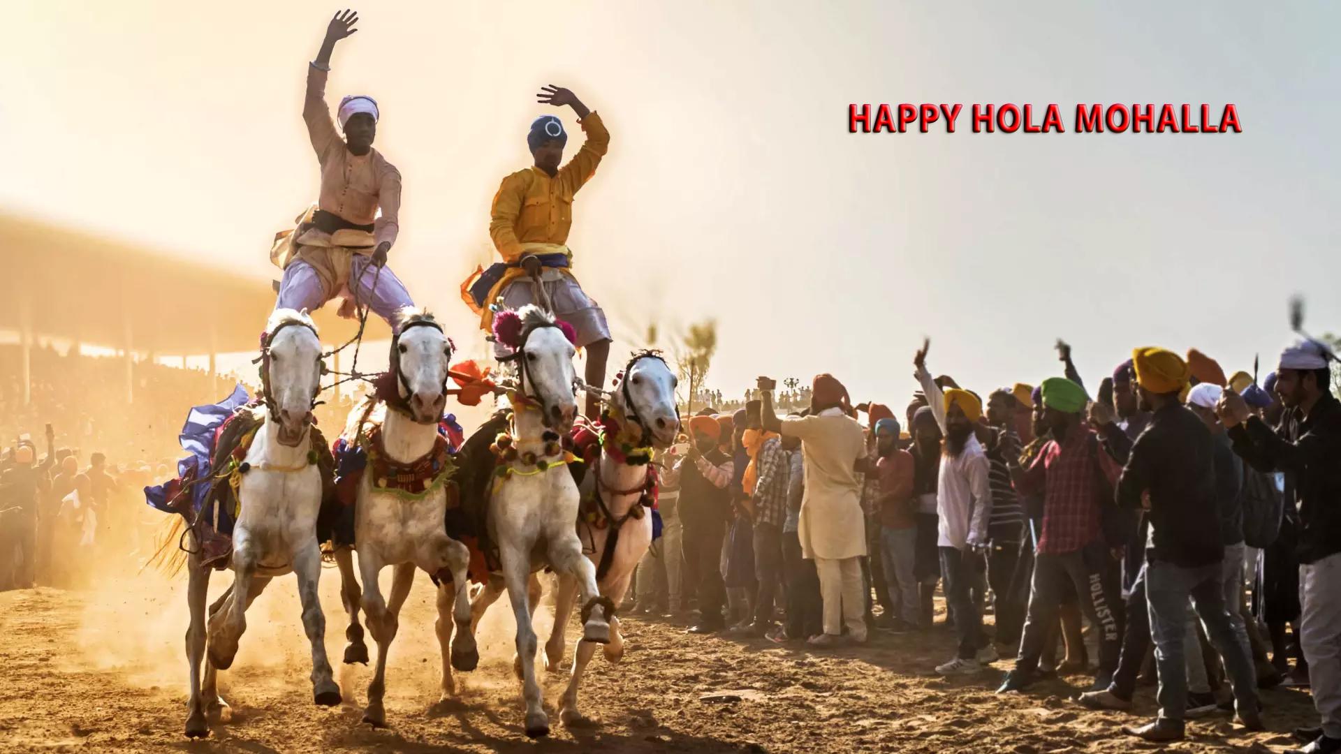 Hola Mohalla Festiva Photos Download