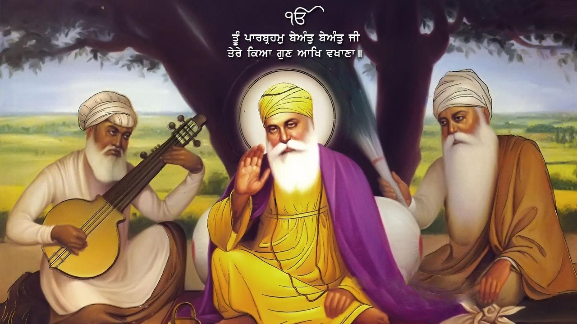 Images Of Guru Nanak Dev Ji Santa Banta