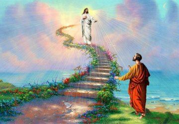 Images Of Jesus In Heaven
