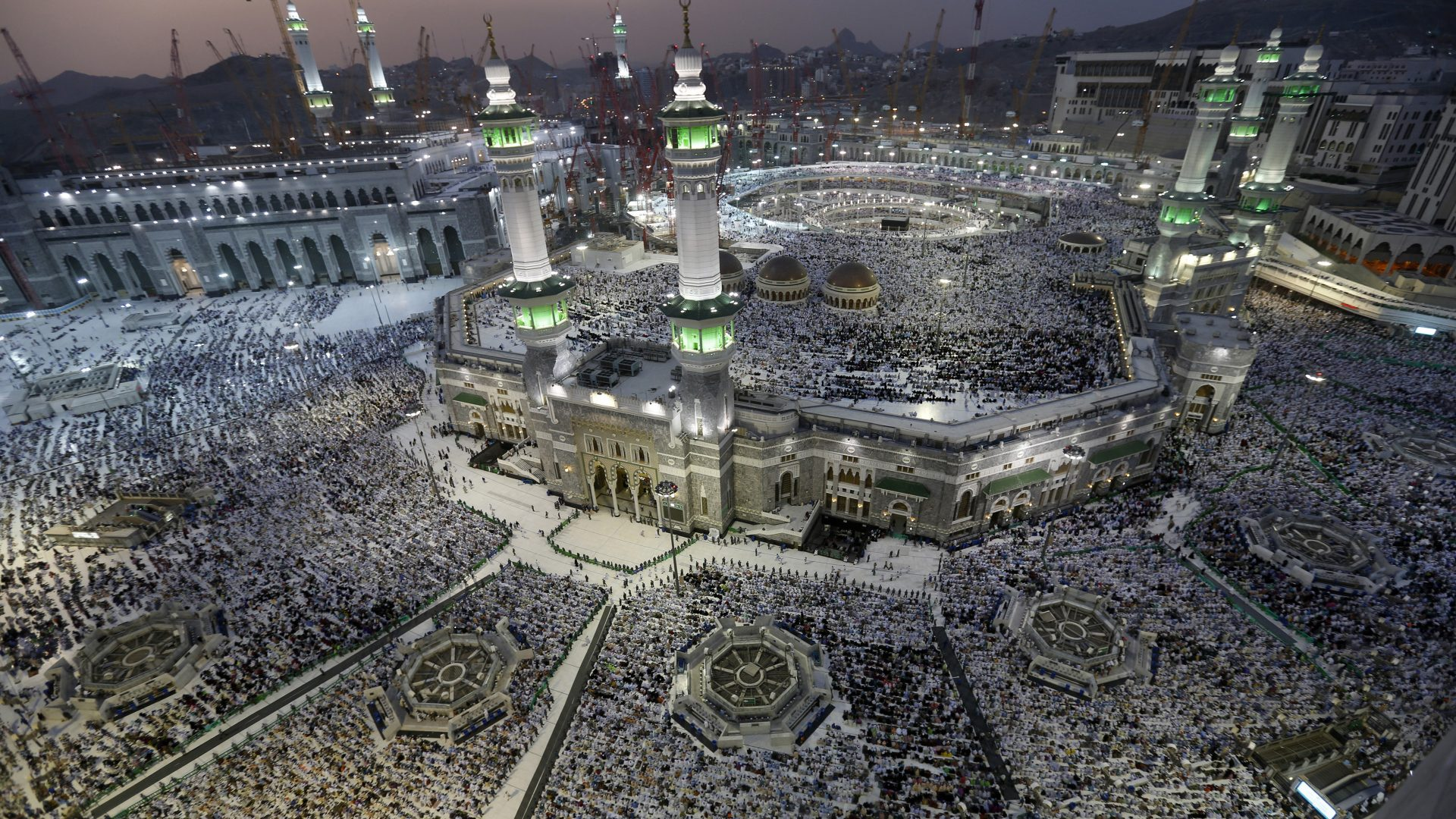 Kaba In Al Masjid Al Haram Greater Holy Mosque In Mecca Saudi Arabia 1366×768 1920×1080