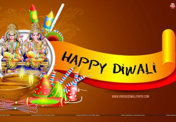 Laxmi Ganesh Happy Diwali Wallpaper