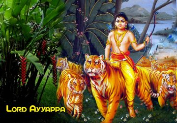 Lord Ayyappa Swamy Tiger Wallpapers