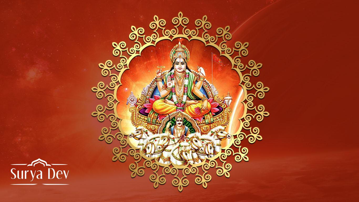 Lord Surya Dev Hd Wallpaper