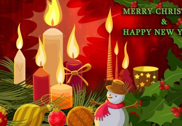Merry Christmas And Happy New Year Image Hd