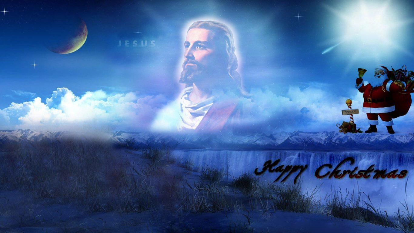 Merry Christmas Pictures With Jesus | Christian Wallpapers
