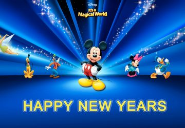 New Years Cartoon Characters Hd Pictures