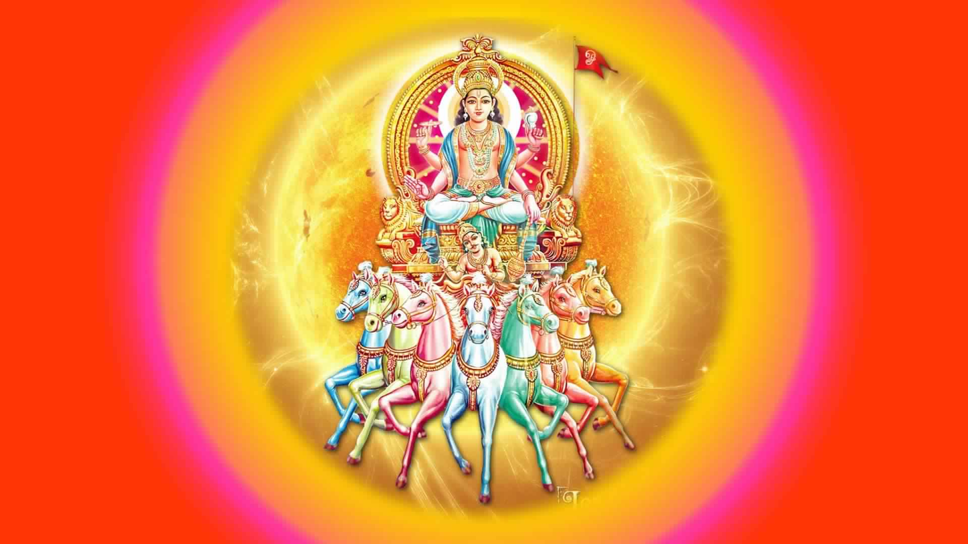 Shree Surya Dev Wallpaper