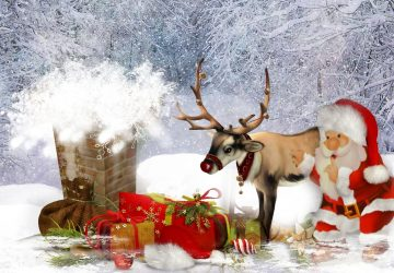 3d Santa Claus Images Download