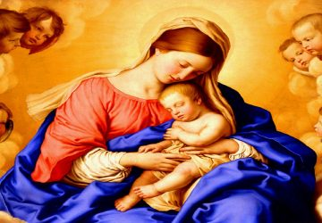 Beautiful Images Of Mother Mary With Baby Jesus