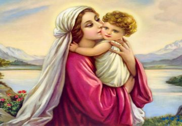 Beautiful Mother Mary And Baby Jesus Hd Wallpaper 1920×1080
