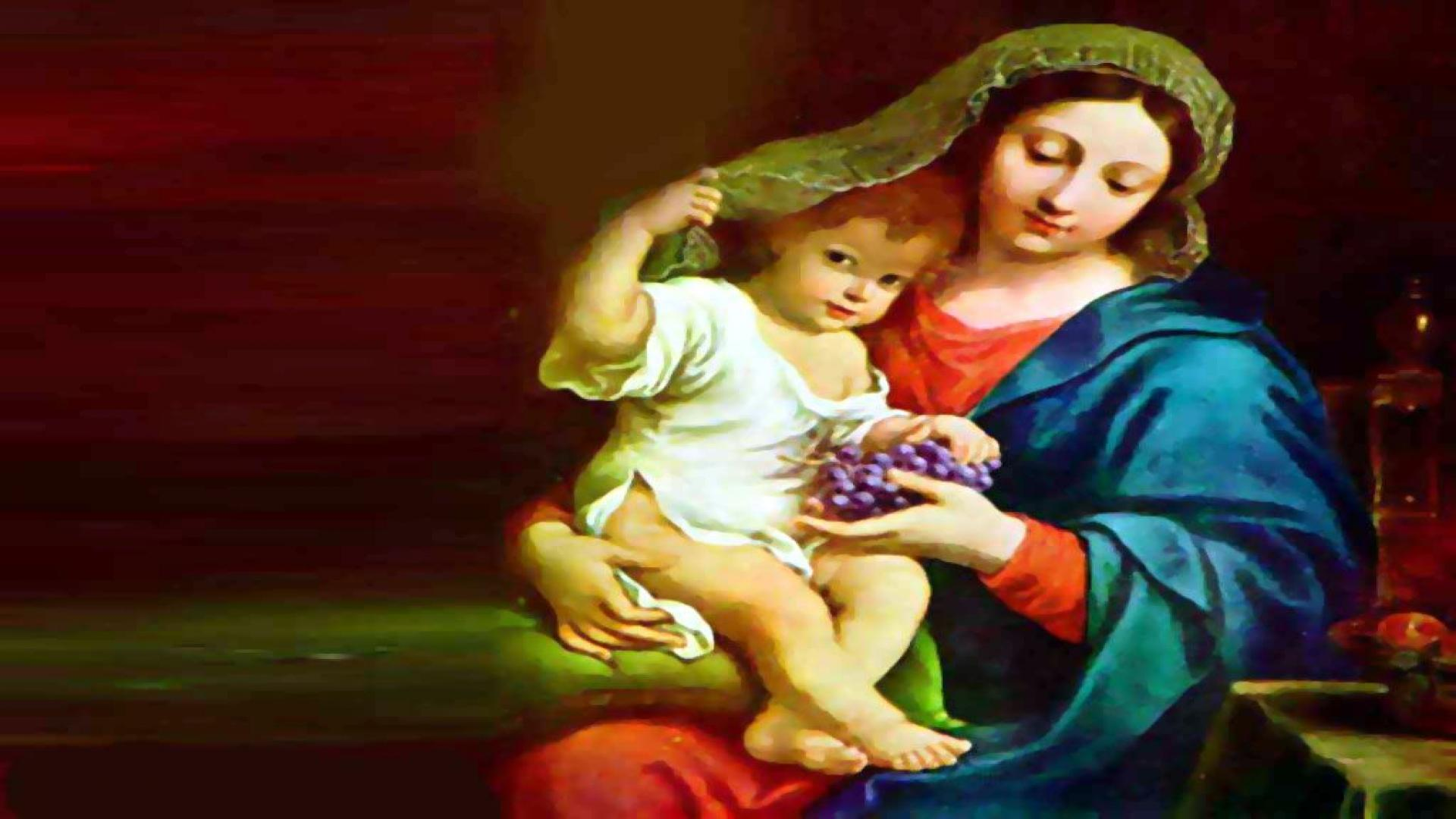 Beautiful Pictures Of Mother Mary And Baby Jesus