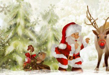 Beautiful Santa Wallpaper 1920×1080