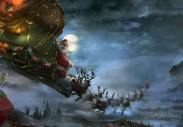 Download Free Santa Claus Desktop Wallpaper