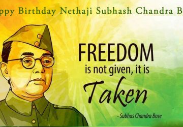 Few Important Lines On Subhash Chandra Bose Happy Birthday Netaji Subhash Chandra Bose