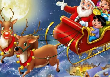 Funny Santa Cartoon Images Pictures Of Santas Sleigh