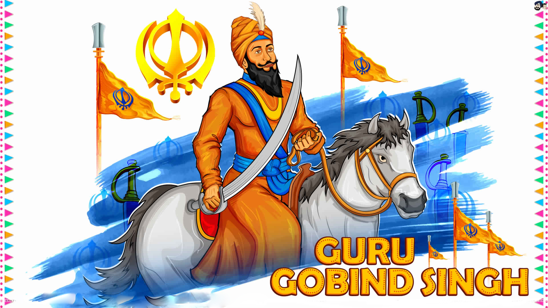 Guru Gobind Singh Ji Hd Wallpaper Free Download