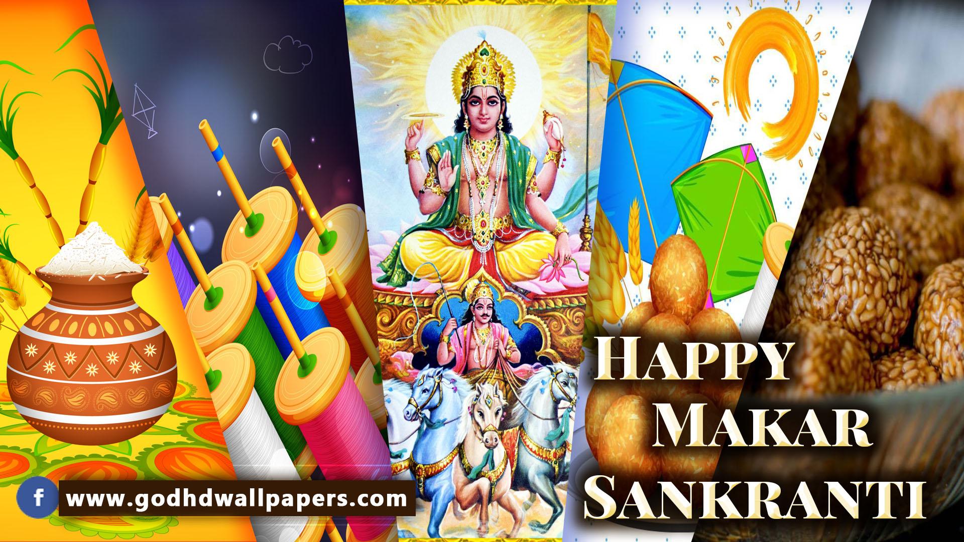 Happy Makar Sankranti 2019 Whatsapp Dp Pics Photos Wallpapers 1080P