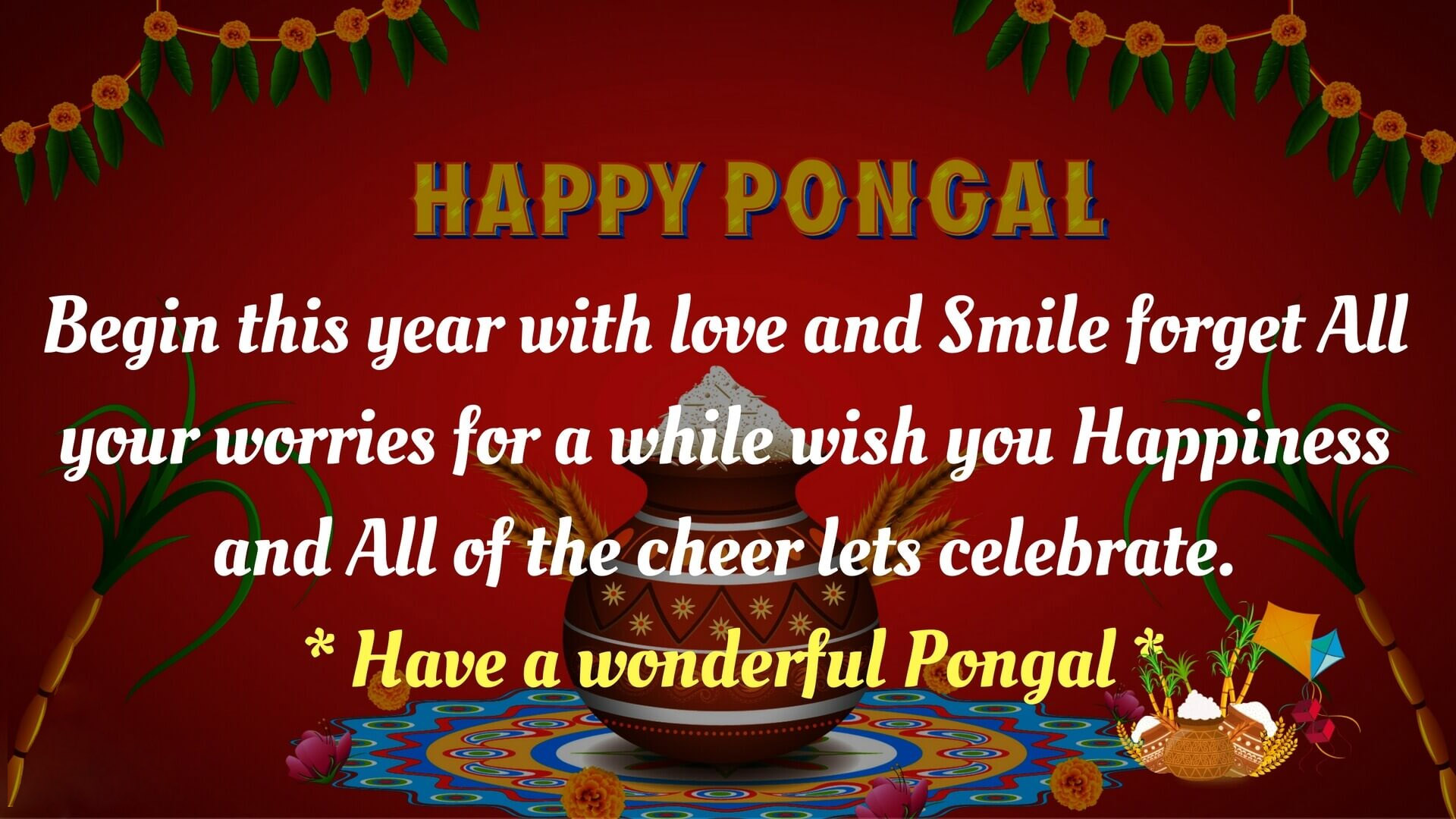 Happy Pongal Festival Wishes Images Photos Picture Hd Wallpapers 1080
