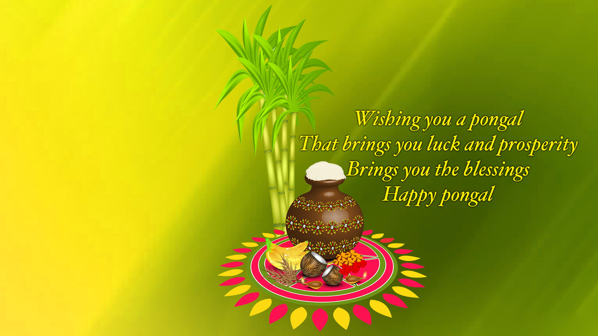 Happy Pongal Wallpapers High Quality Download