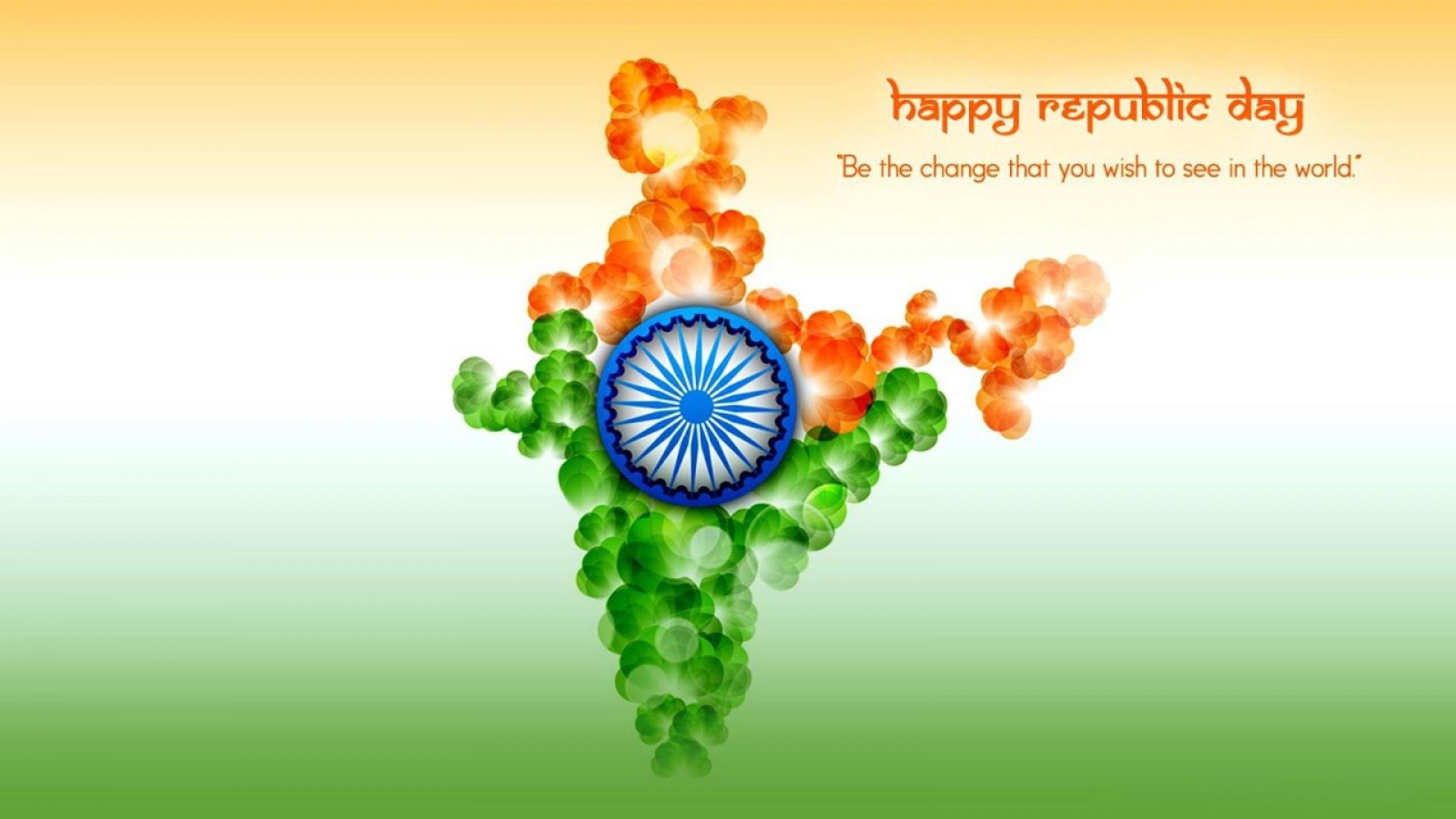 Happy Republic Day India Hd Wallpaper