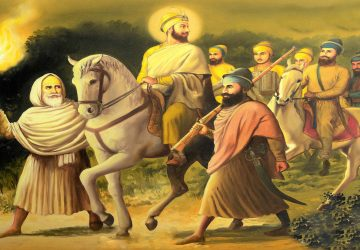 Images Of Guru Gobind Singh Ji With Chaar Sahibzaade