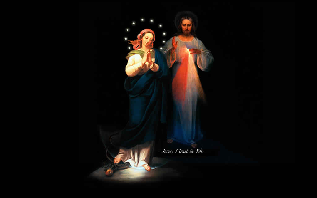 Jesus And Mother Mary Hd 3d Images Free Download