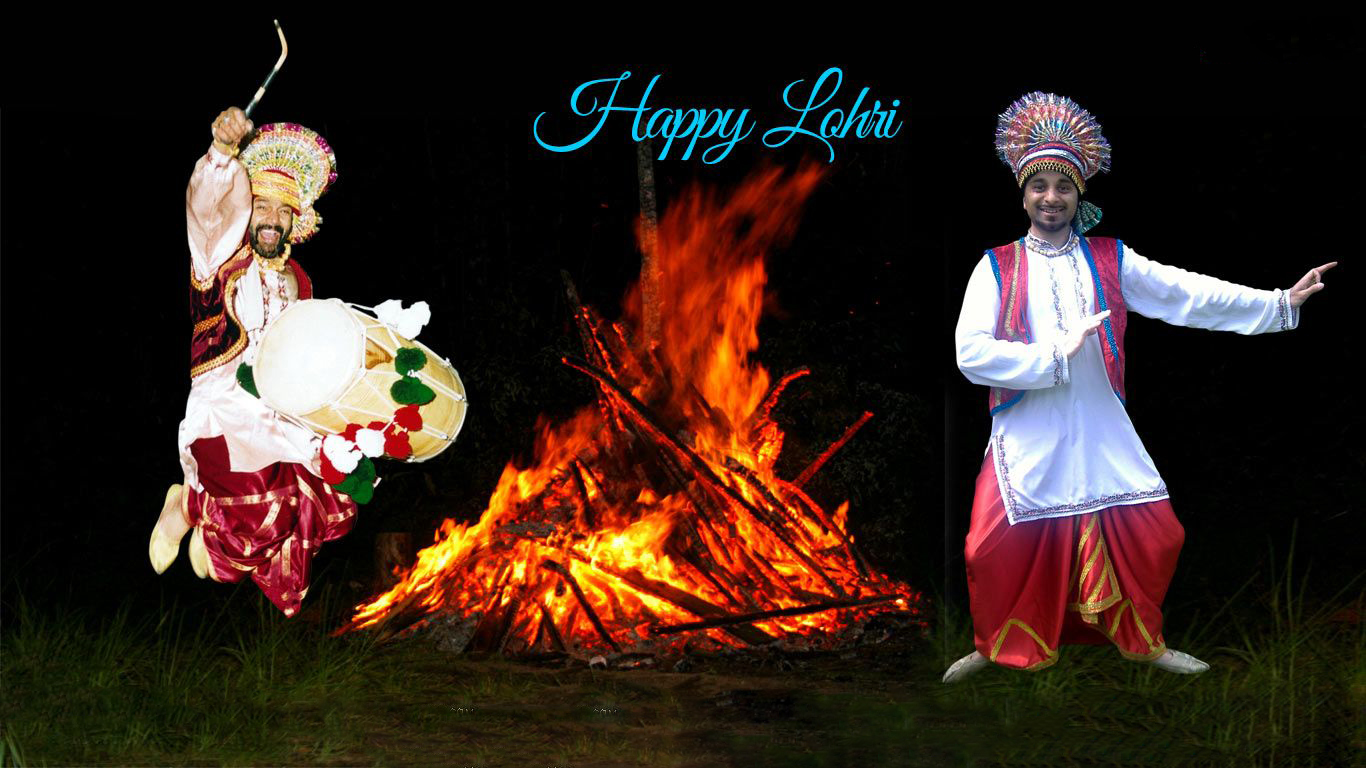 Lohri Pictures For Colouring