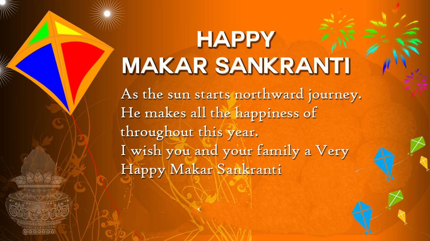 Makar Sankranti Images In Hindi English Quotes