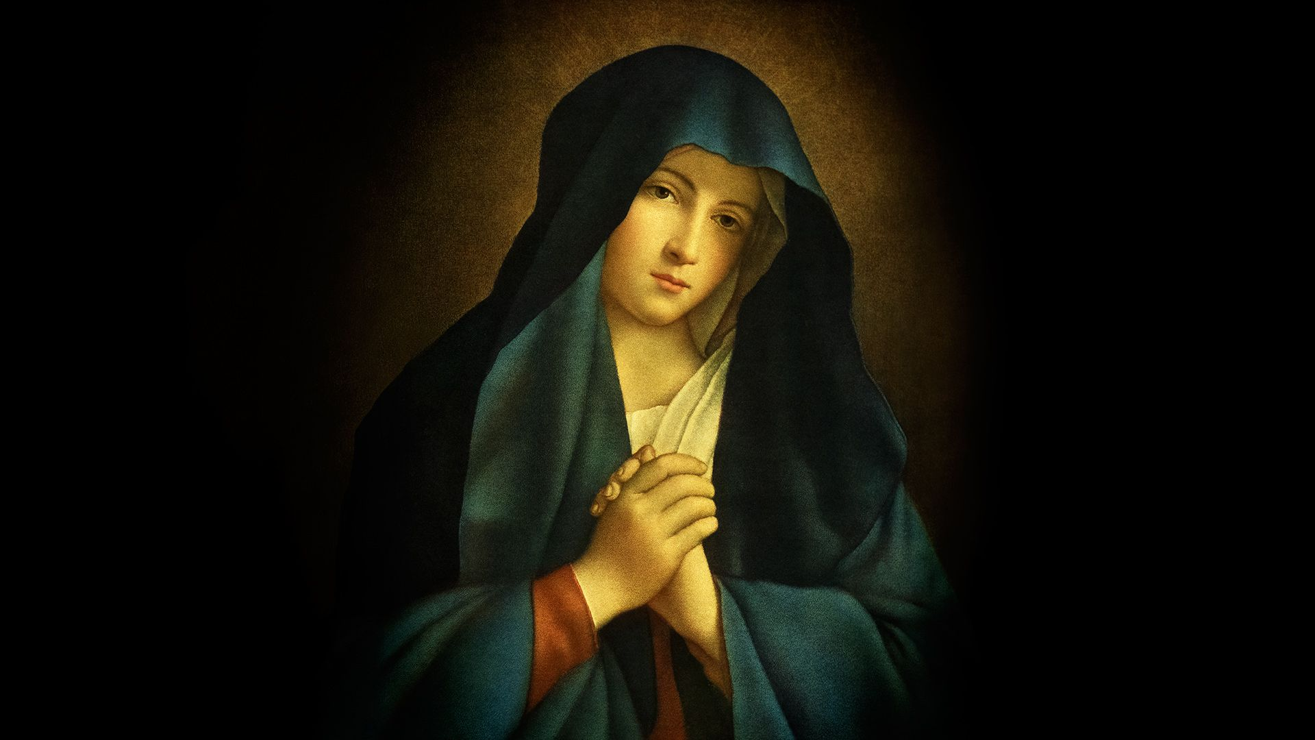 Most Beautiful Picture Of The Blessed Virgin Mary