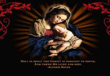 Mother Mary Photos With Jesus Virgin Mary Image