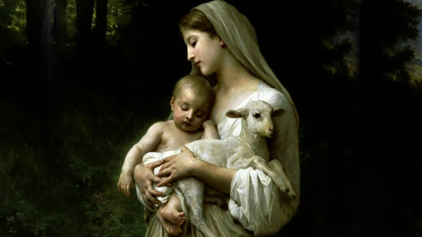 Mother Mary With Baby Jesus Hd Images Download